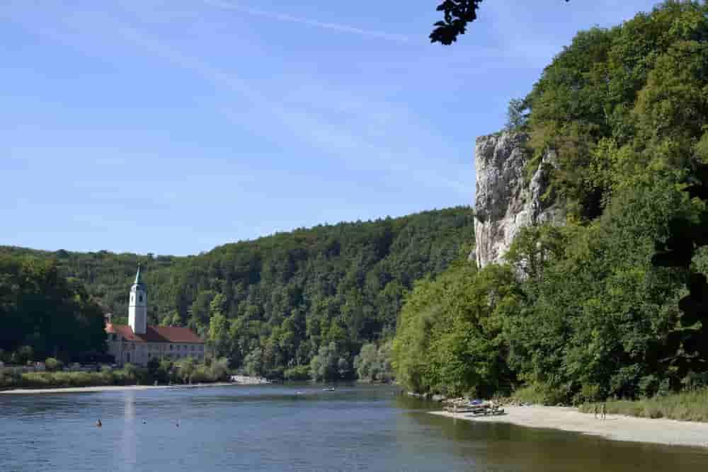 Übersicht Klettergebiete Donaudurchbruch + Tal.