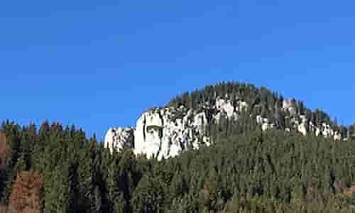 Übersicht Klettergebiete Oberammergau.