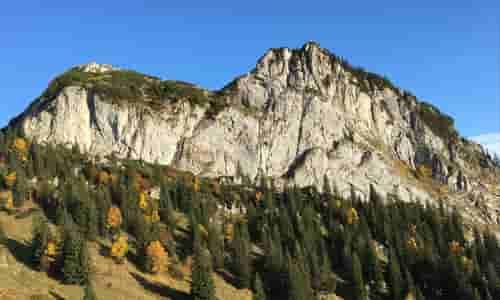 Übersicht Klettergebiete Tölzer Land.